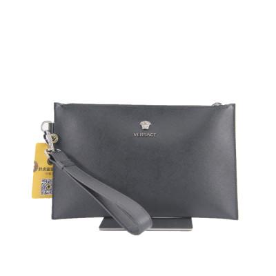 Versace 美杜莎十字纹牛皮手包 专柜价5000