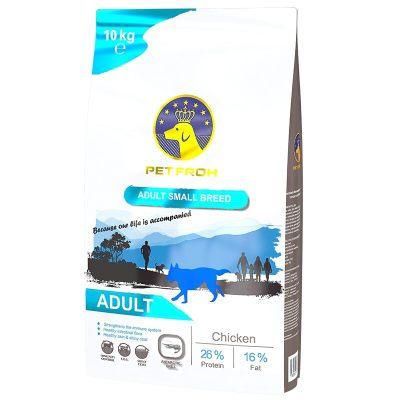 佰芙(PET FROH)原装进口小型犬成犬粮鸡肉10kg