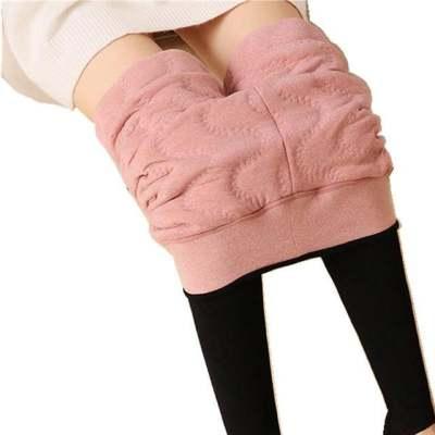 620克一体蚕丝特厚保暖显瘦打底裤冬季超厚加绒加厚外穿女士棉裤e【正品】
