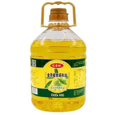 亿亩地2.7升橄榄食用调和油食用油橄榄油
