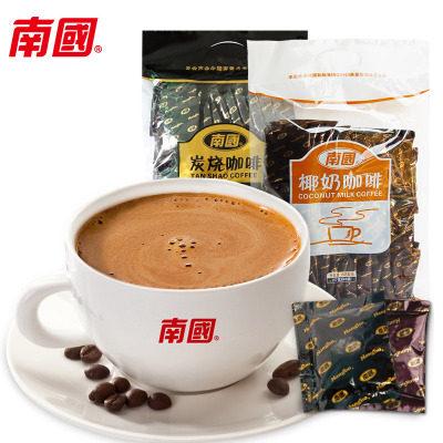 【耘凡兔296】海南特产南国炭烧咖啡椰奶咖啡680g袋装苦味香醇浓郁提神
