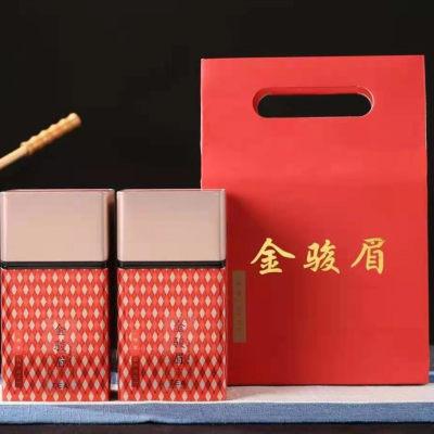 新茶金骏眉红茶500g礼盒装蜜香红茶福建聚天禾茶叶浓香红茶送礼款