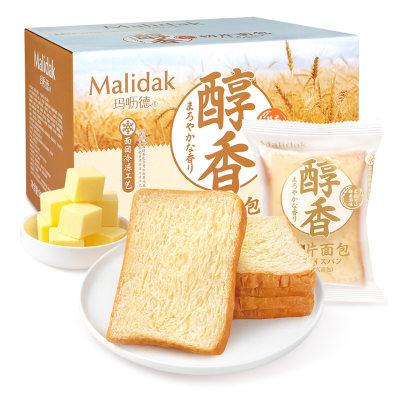 【耘凡兔784】玛呖德醇香切片面包美味早餐800g/整箱