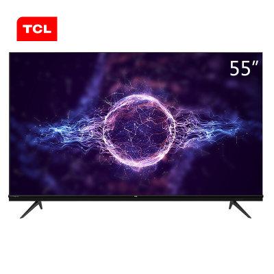 TCL 55V580 55英寸液晶电视4K超高清护眼AI声控