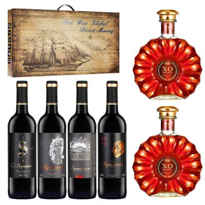 台溢红酒,洋酒礼盒