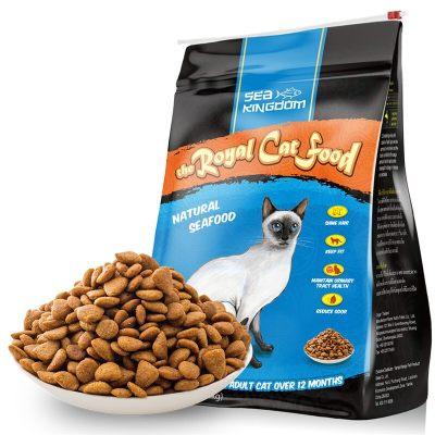 海鲜王国(Sea Kingdom)猫粮 泰国进口 宠物猫粮