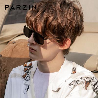 帕森(PARZIN) 高清偏光轻盈TR近视太阳镜夹片 男女近