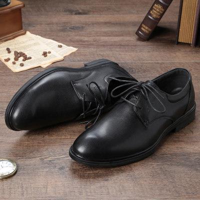 迅威猛品牌男鞋2020春季新款真皮牛皮简约商务鞋休闲皮鞋单鞋