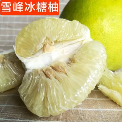 柚子 安江冰糖柚子雪峰脆甜柚子净重9斤新鲜水果
