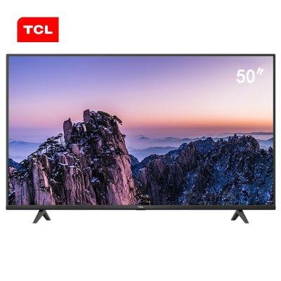 TCL 50G60 50英寸4K超高清画质 AI人工智能 语音声控 平板液晶电视机