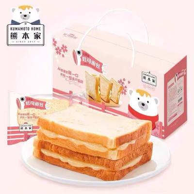 优米熊北海道吐司面包,1000g/箱,酱心美味,人人至爱