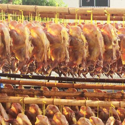 手工风干腊鸡农家美食鸡肉2斤腌制咸香腊味农家鸡散养土鸡