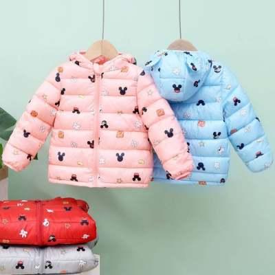 儿童羽绒棉服男童女童婴幼宝宝棉衣中小童冬季短款外套【正品】