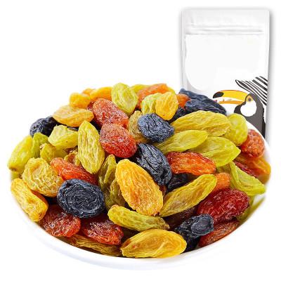 葡萄干 黑红绿黄无核四色葡萄干2斤/5斤提子干