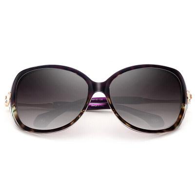 海伦凯勒 偏光太阳镜女款眼镜 H88095P03 紫玳瑁