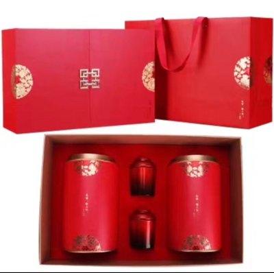 至尊豪礼,高能量子养生茶,凉茗特级正山小种红茶 125g/罐*2
