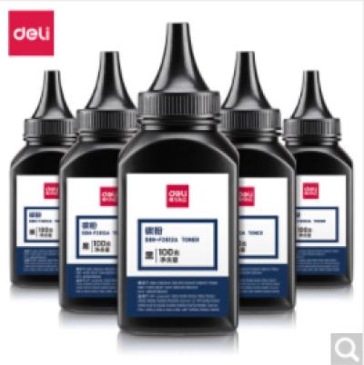得力(deli)6瓶装DBH-F2612A6 硒鼓 2612搭配碳粉/墨粉1020plus(适用惠普3050/M1005//1010/1012/1015/M1319f