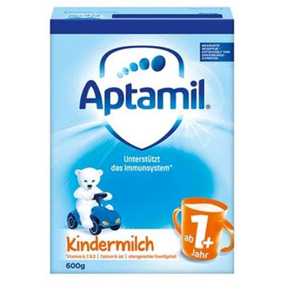 【耘凡兔013】德国爱他美婴幼儿奶粉纸盒装1+段 1岁以上 600g*2盒