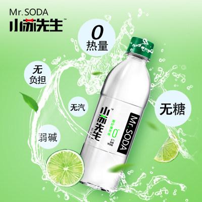小苏先生青柠薄荷味苏打水饮料360ml*