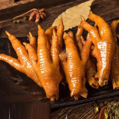 好吃佬鸭霸王 香辣鸡爪 休闲卤味小吃零食150g(可超辣)