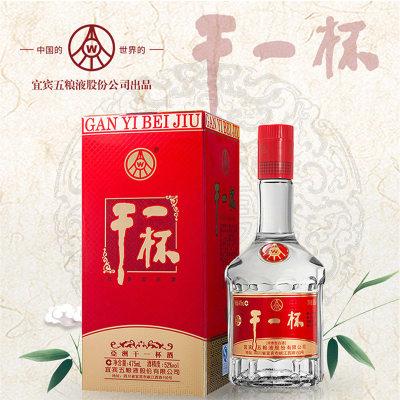 五粮液干一杯系列 金卡盒 52/45/38度浓香型白酒 475ML/瓶*6