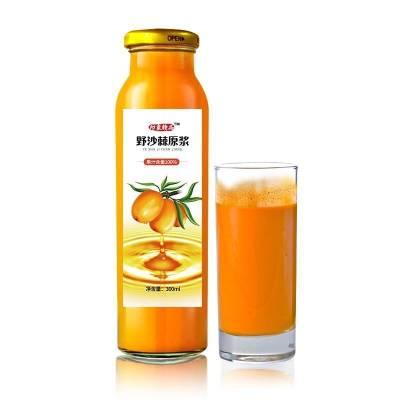 沙棘原浆5瓶装1500ml果汁饮料饮用