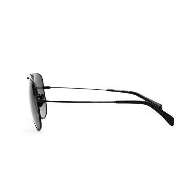 中性男女款太阳镜墨镜驾驶镜 蛤蟆飞行员 高清偏光防紫外线黑