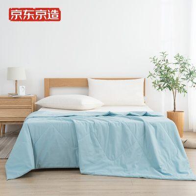 京东京造 抗菌水洗棉被 薄被 空调被 200x230cm