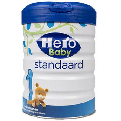 【耘凡兔013】荷兰Hero Baby白金版原装进口婴幼儿配方牛奶粉1段800g *2罐