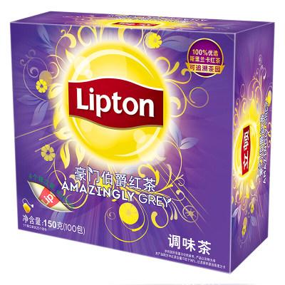 立顿Lipton 红茶 豪门伯爵红茶叶 办公室下午茶 袋