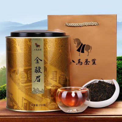 八马茶业 茶叶 武夷金骏眉红茶 礼罐装250克