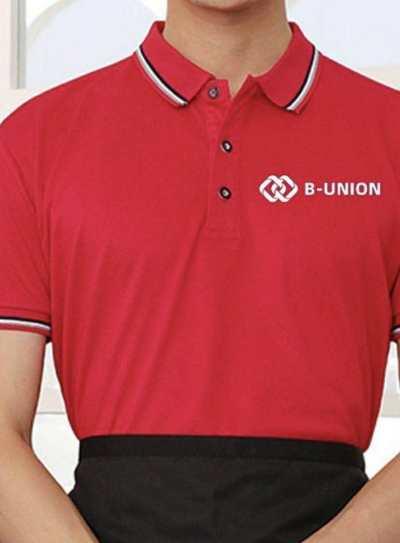 B-UNION 珍藏版 代表性签名 短袖T恤 polo衫 文化衫 男女同款 舒适透气