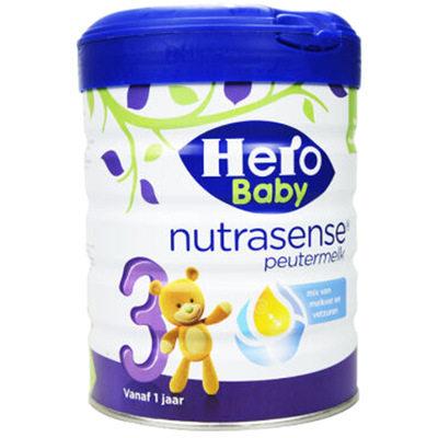 【耘凡兔013】荷兰Hero Baby白金版原装进口婴幼儿配方牛奶粉3段700g *2罐