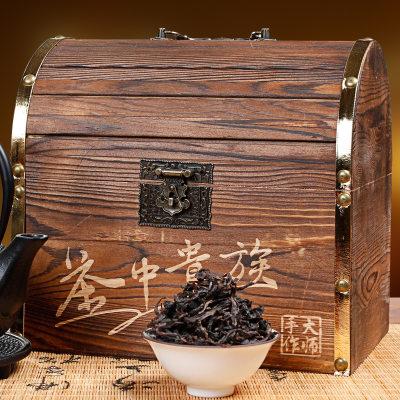 大红袍茶中贵族经典礼盒款福建岩茶浓香茶叶300g散装大红袍礼盒装