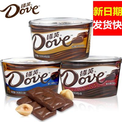 德芙巧克力丝滑牛奶巧克力原封碗装巧克力