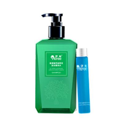 伊树 氨基酸控油养发套组 两件套 清洁控油滋养强韧发丝