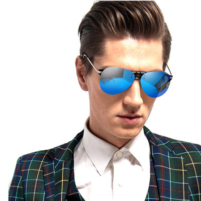 海伦凯勒墨镜夹片 偏光太阳镜夹片男女款驾驶专用开车眼镜 H8