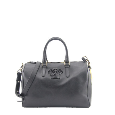 Versace 美杜莎logo波士顿桶包 专柜价10600
