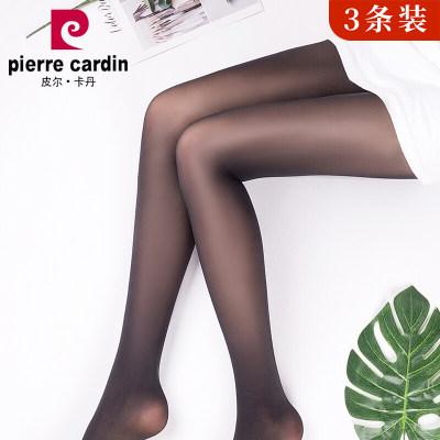 皮尔卡丹**女超薄高弹耐穿面膜菠萝袜不易勾丝糖果色无缝苹果臀