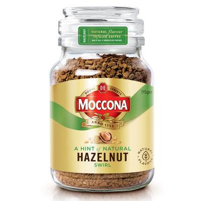 摩可纳 Moccona 进口纯咖啡粉 经典榛果风味冻干速溶黑