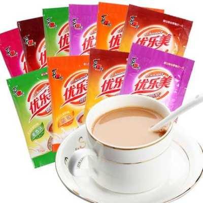 优乐美奶茶袋装22g*30包整箱麦香草莓香芋味阿萨姆奶茶粉批发包邮【优品】