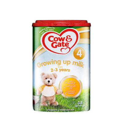 【耘凡兔013】英国Cow Gate牛栏进口婴幼儿配方奶粉4段800g*2罐