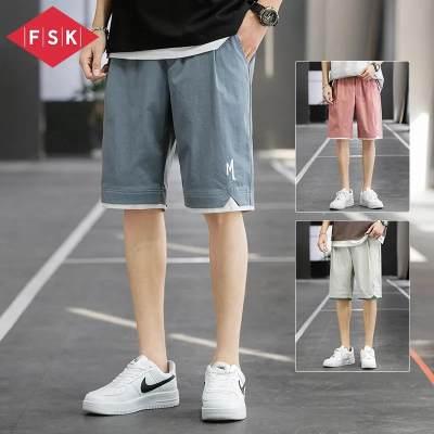 【品牌】FSK短裤男士夏季薄款潮流大裤衩五分裤子宽松休闲运动中裤
