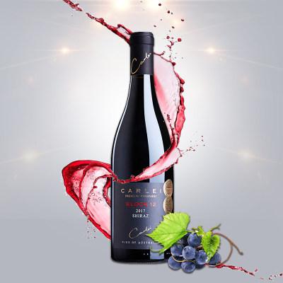 澳大利亚 卡利酒庄 Block12 干红葡萄酒 果香型发酵红酒