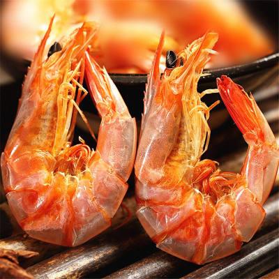 烤虾干 即食海鲜虾干烤虾干对虾干休闲零食淡干虾