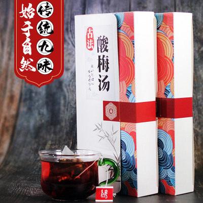 【耘凡兔087】桂花酸梅汤 采用植物原料配置 不使用浓缩汤粉速溶颗粒 2盒