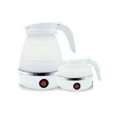 厂家直销硅胶折叠电热水壶旅行水壶耐高温电水壶家用电热烧水壶【正品】
