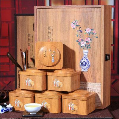 聚天禾铁观音礼盒装 鲜香型铁观音500g 古道礼盒高山乌龙茶