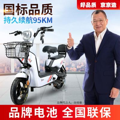 京京新国标电动自行车48V新款成人电瓶车小型助力男女两轮代步车